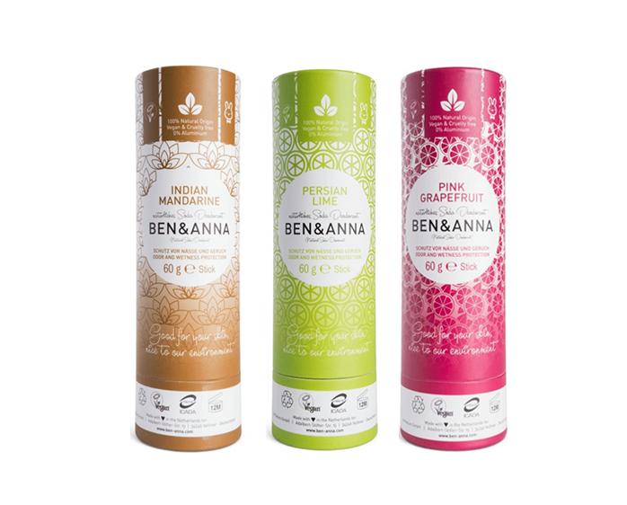 Naturalne dezodoranty Ben i Anna