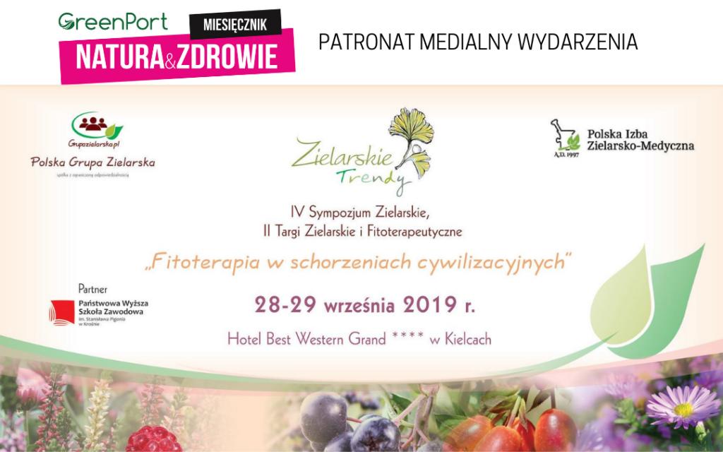 FITOTERAPIA W SCHORZENIACH CYWILIZACYJNYCH 28-29 września w Kielcach