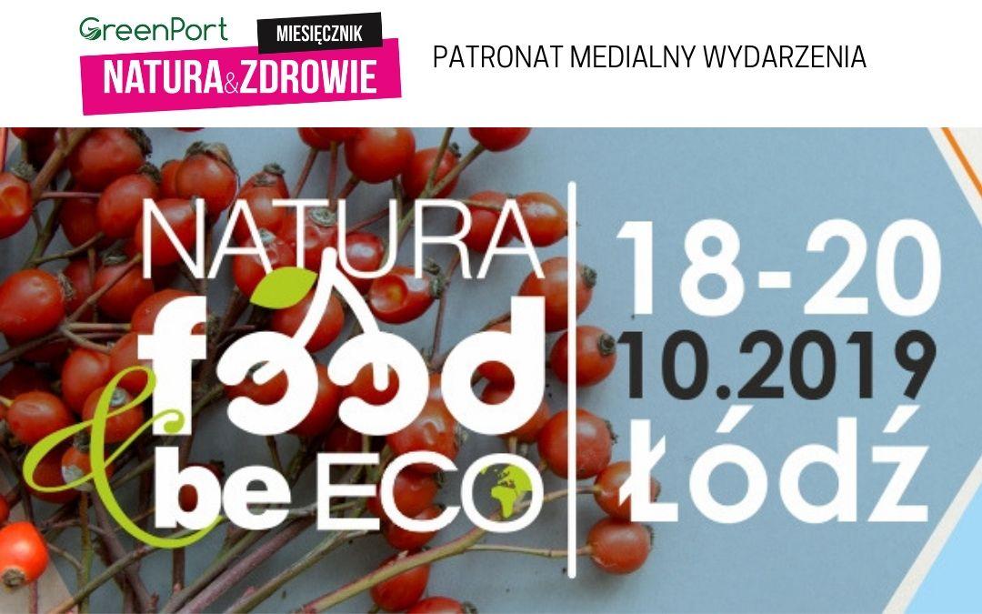 NATURA FOOD & beECO 18 – 20 października w Łodzi
