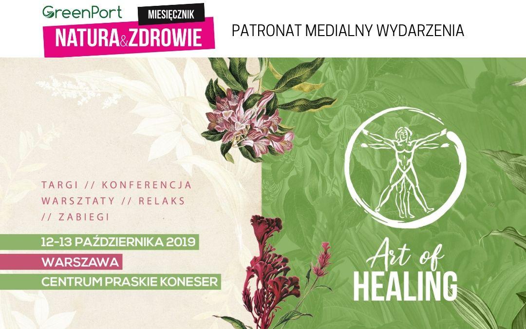 Targi Art of Healing 12-13 października w Warszawie