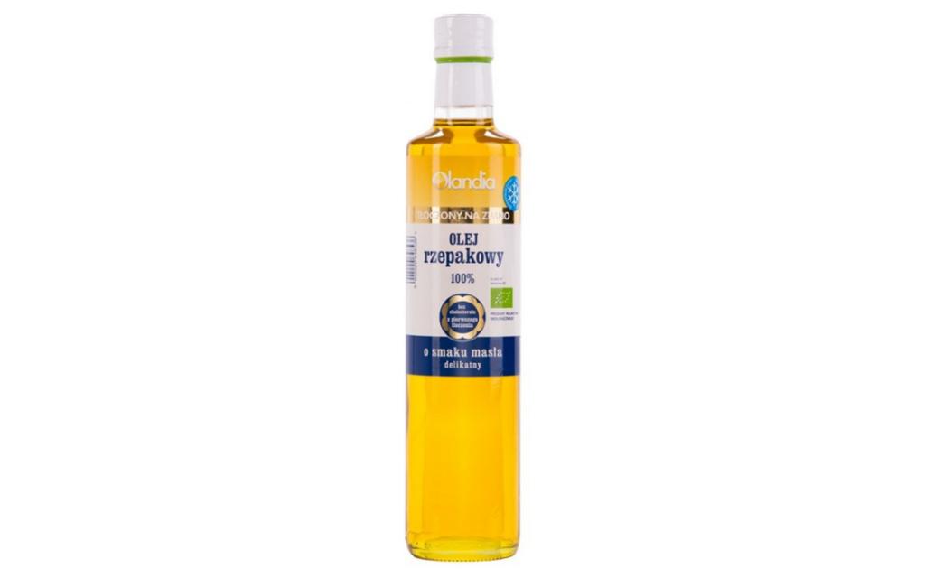 Ekologiczny olej z zarodków rzepaku masłowy Olandia