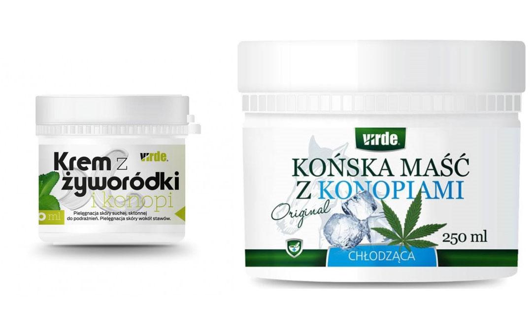 VIRDE – polski producent maści, kremów i suplementów diety