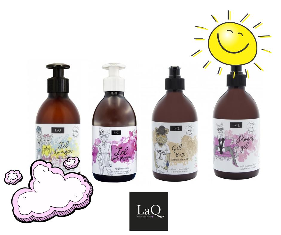 Naturalne mydła i żele do mycia producenta LAQ