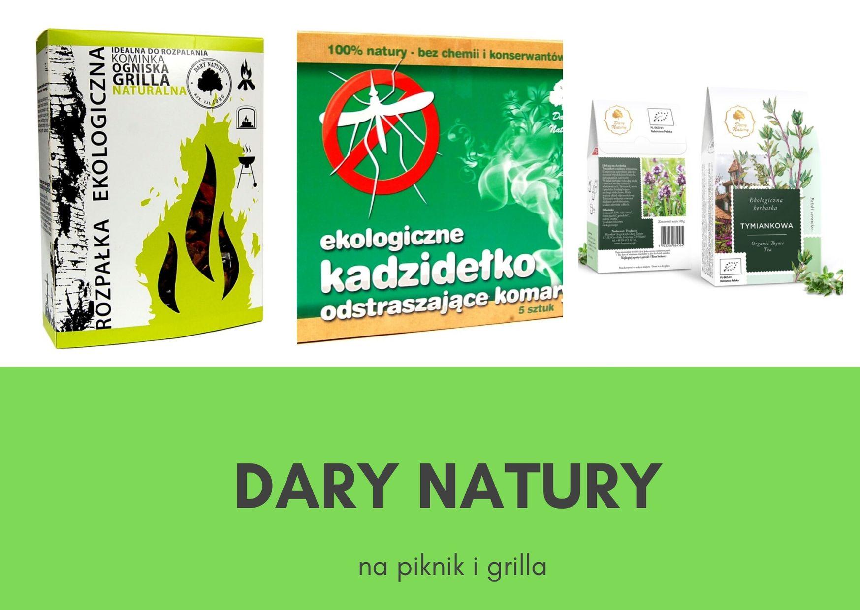 Nowości Darów Natury- na grill i piknik