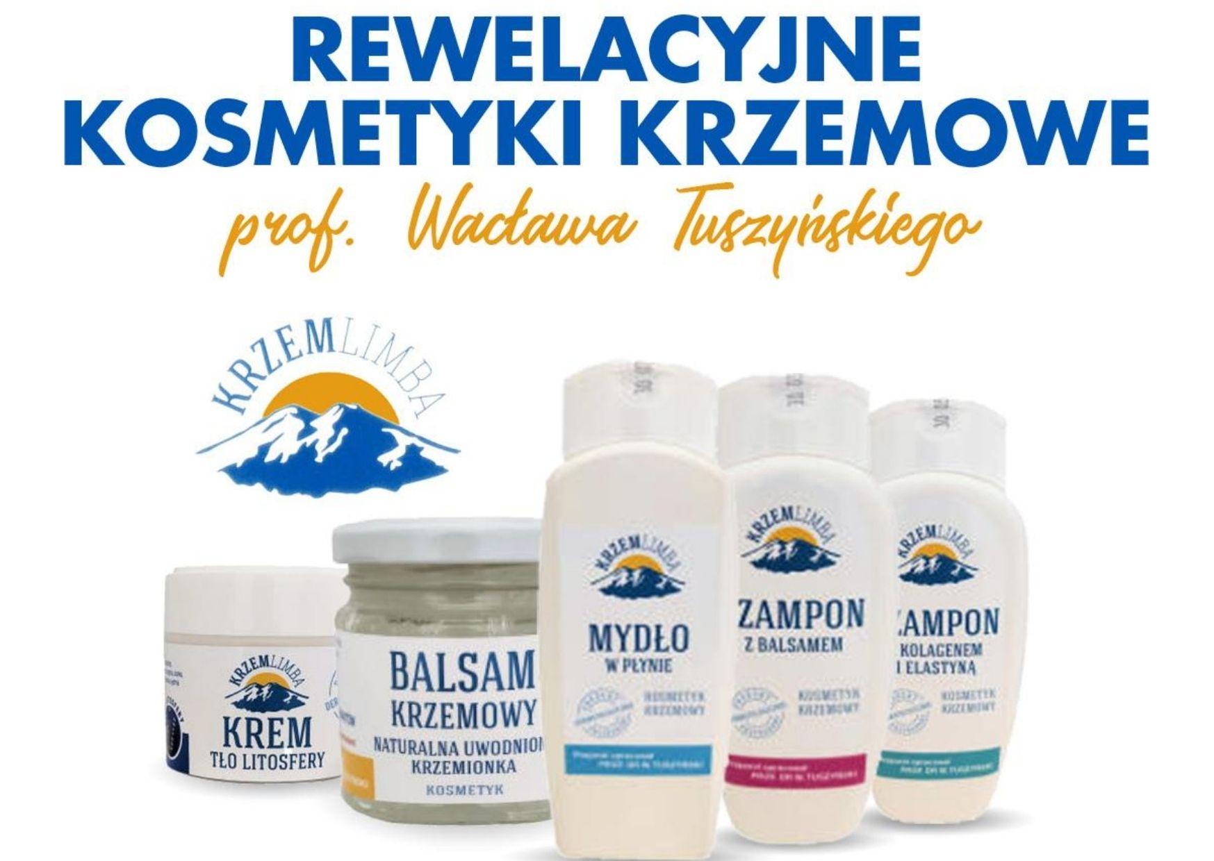 Rewelacyjne kosmetyki krzemowe prof. Tuszyńskiego